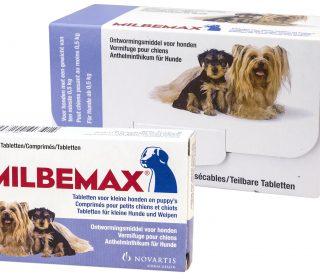 Milbemax Tabletten Puppy/Kleine Hond 4 Tabl.